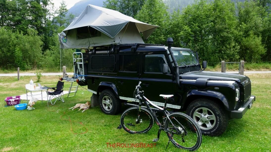 Camping Muglin | The Rolling Beast
