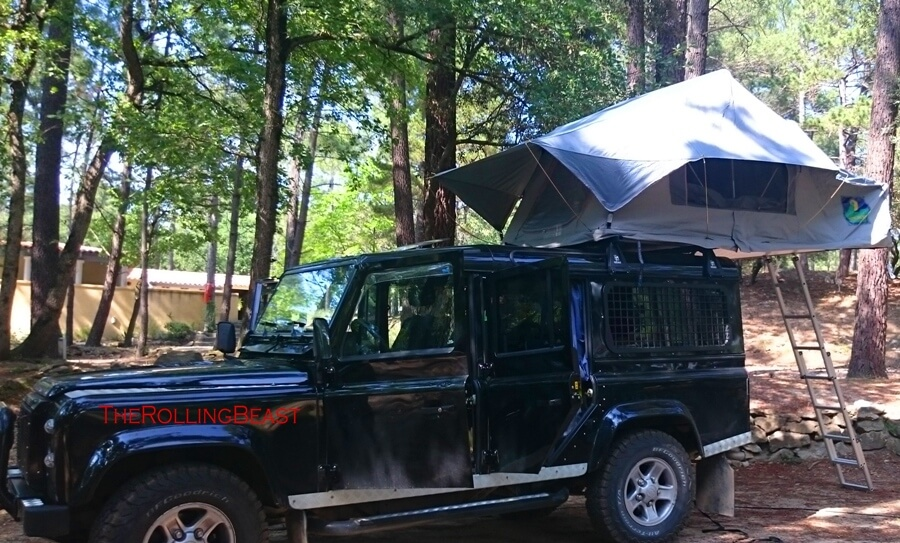Roof tent lifting roof or something else? & All about the Beast | Land Rover Defender as a travel vehicle
