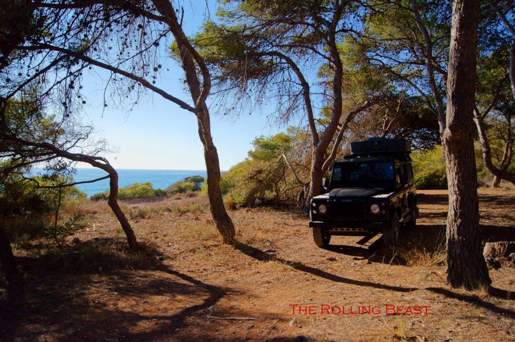 Serra d'Irta - wild camping