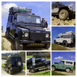 Offroad Training Collage