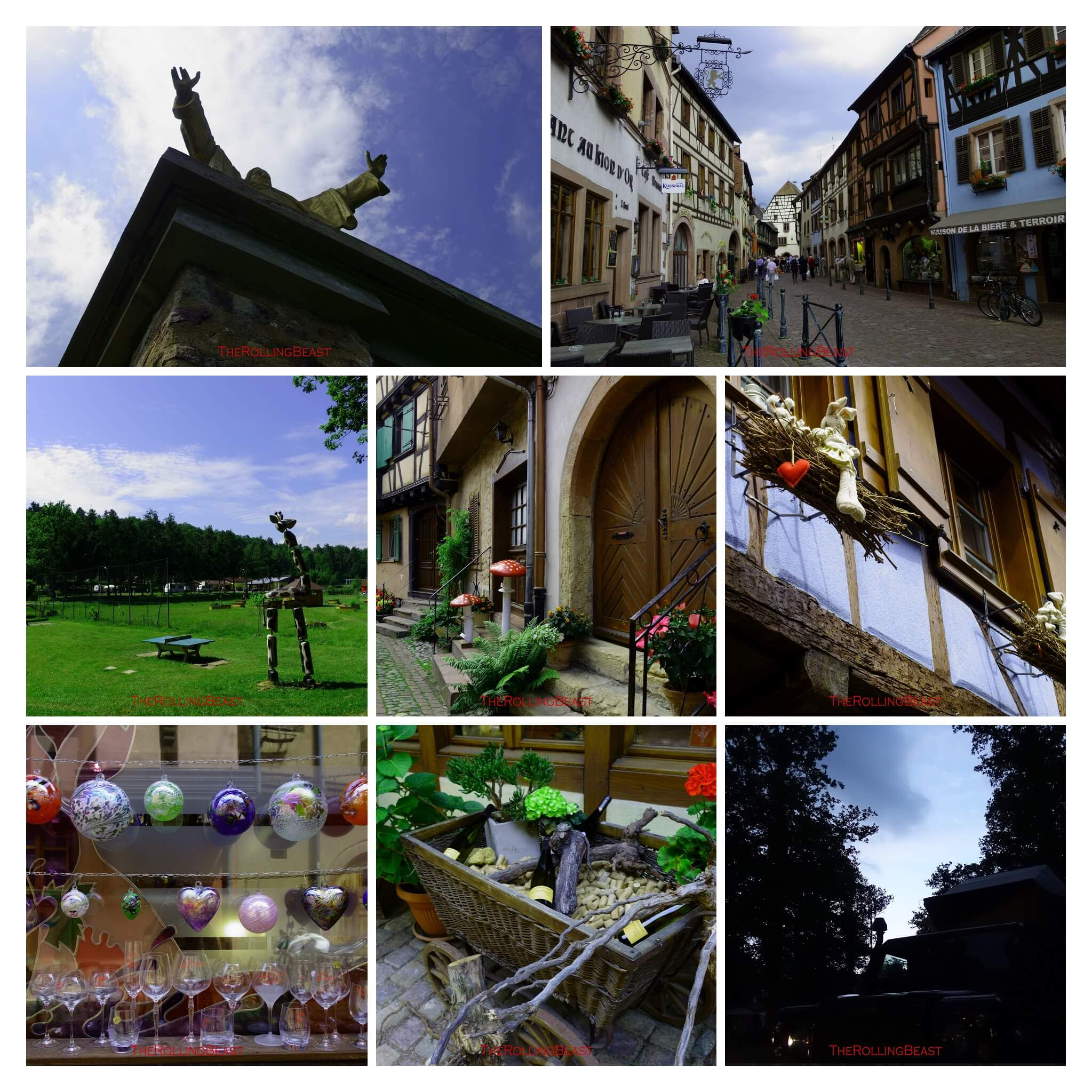 Alsace Collage