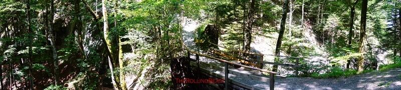 Tamina Gorge Natural Bridge