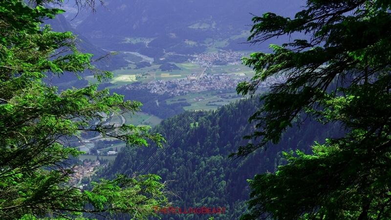 Kunkelspass_View on Rhinevalley