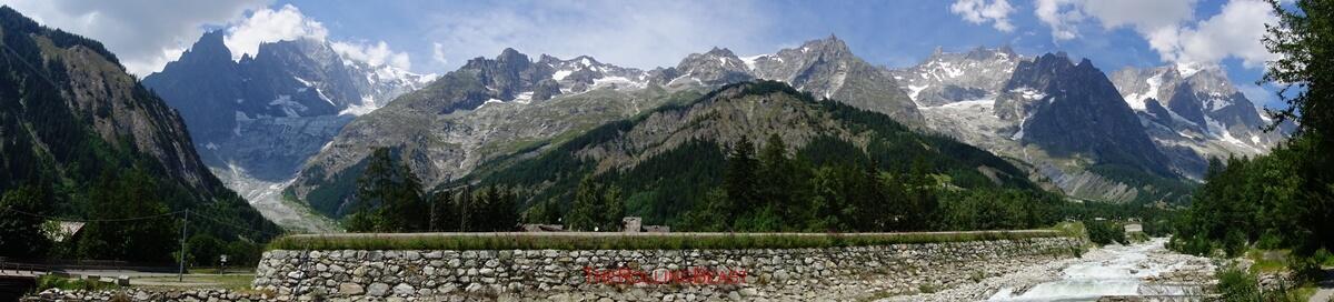Mont-Blanc Glacier