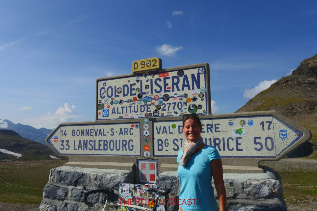 Col d Iseran Pass Summit
