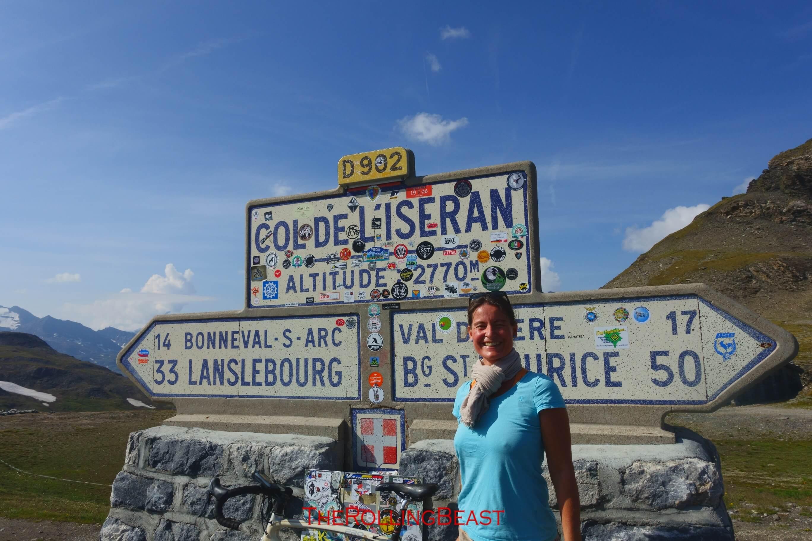 Col d Iseran Pass Summit
