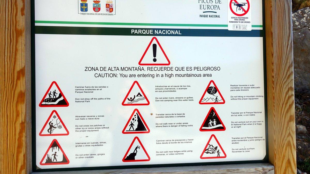 Signs Picos de Europa